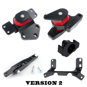 2015+ Volkswagen MK7 GOLF GOLF-R Performance Drivetrain Mount Kit (Version 2 Insert) Carrot Top Tuning