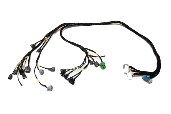 D & B-Series OBD2A Tucked Engine Harness Kit w/ Subharness | 96-98 Civic EK Carrot Top Tuning