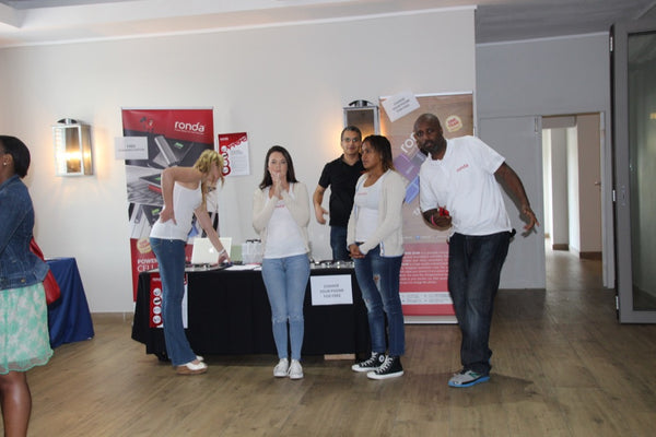 Ronda crew at SQL Saturday #432, Cape Town 2015