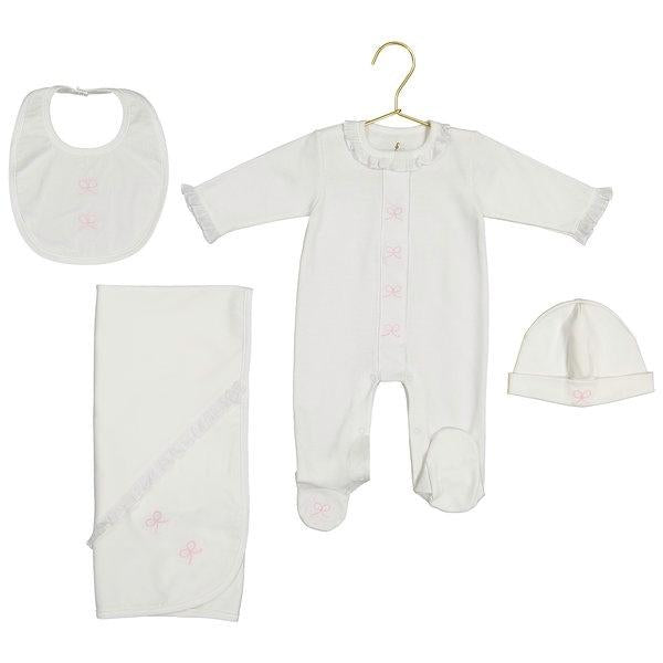 Annette Pima Cotton Bow Bib