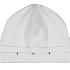 Spencer White Pleated Hat
