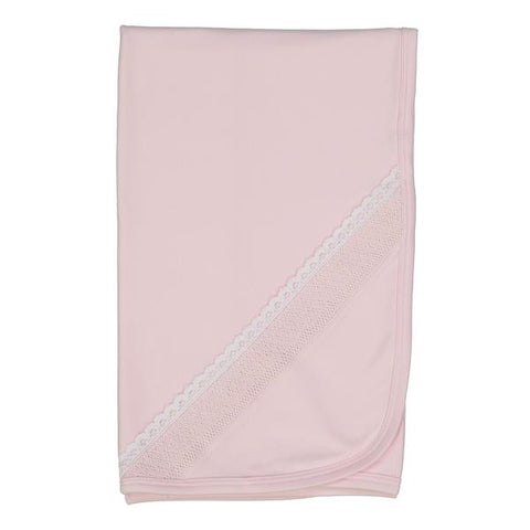 Claire Pink Smock Blanket
