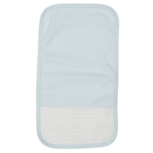 Simon Pima Cotton Light Blue Burp Cloth