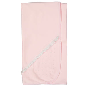 Darlene Pima Cotton Pink Dot Blanket