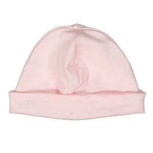 Darlene Pima Cotton Pink Dot Hat