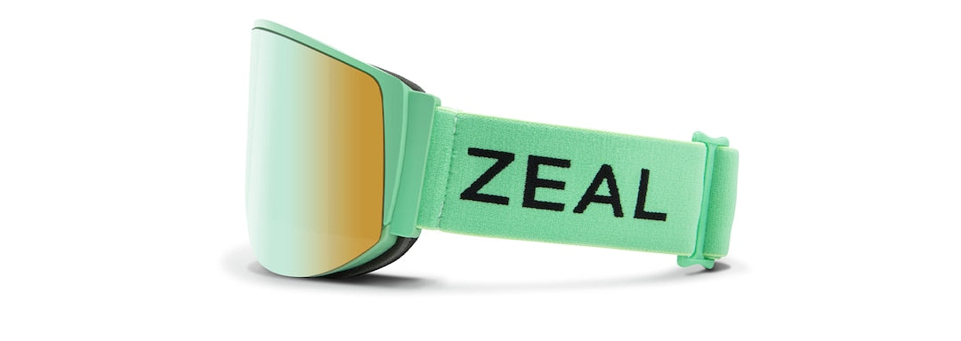 Zeal Optics BEACON Goggles - Spearmint / Alchemy Mirror - The Lake and Company