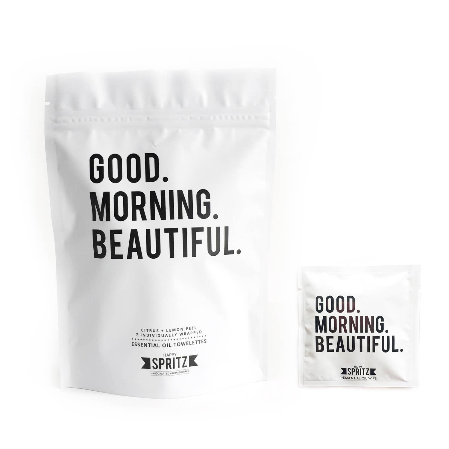 Good Morning Beautiful Towelette 7 Day Bag - The Lake and Company