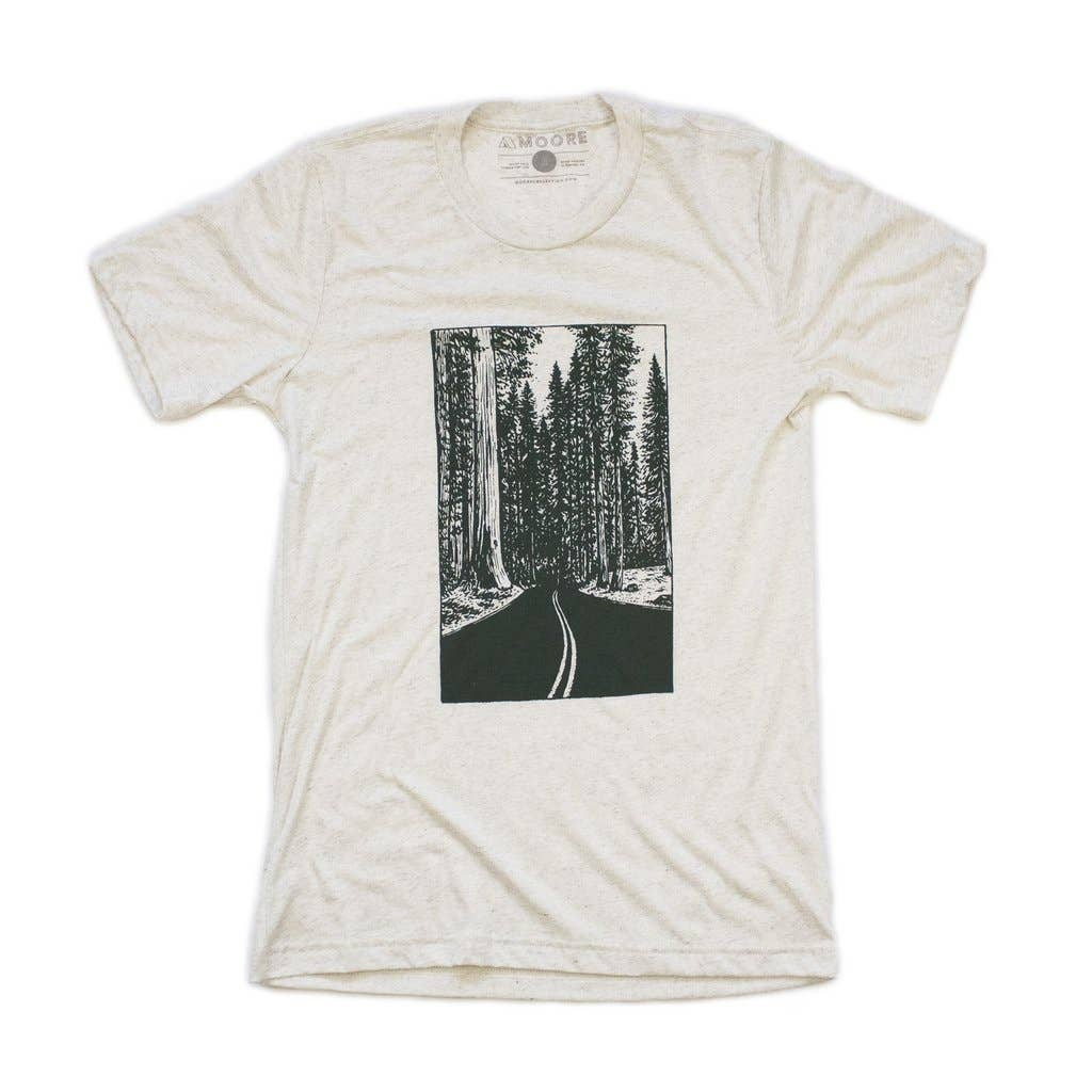 Redwoods Tee-Oatmeal - The Lake and Company