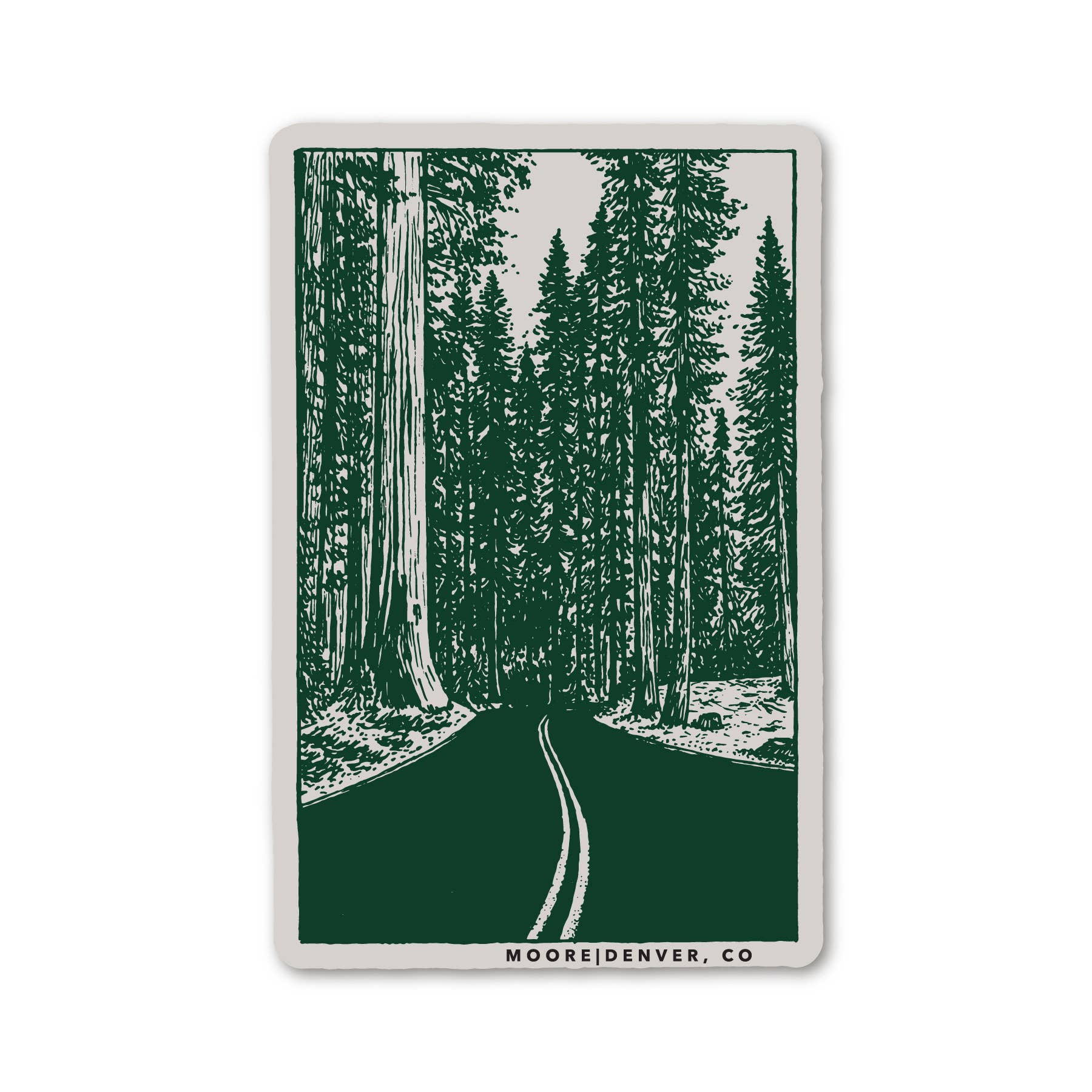 Redwoods Sticker - The Lake and Company