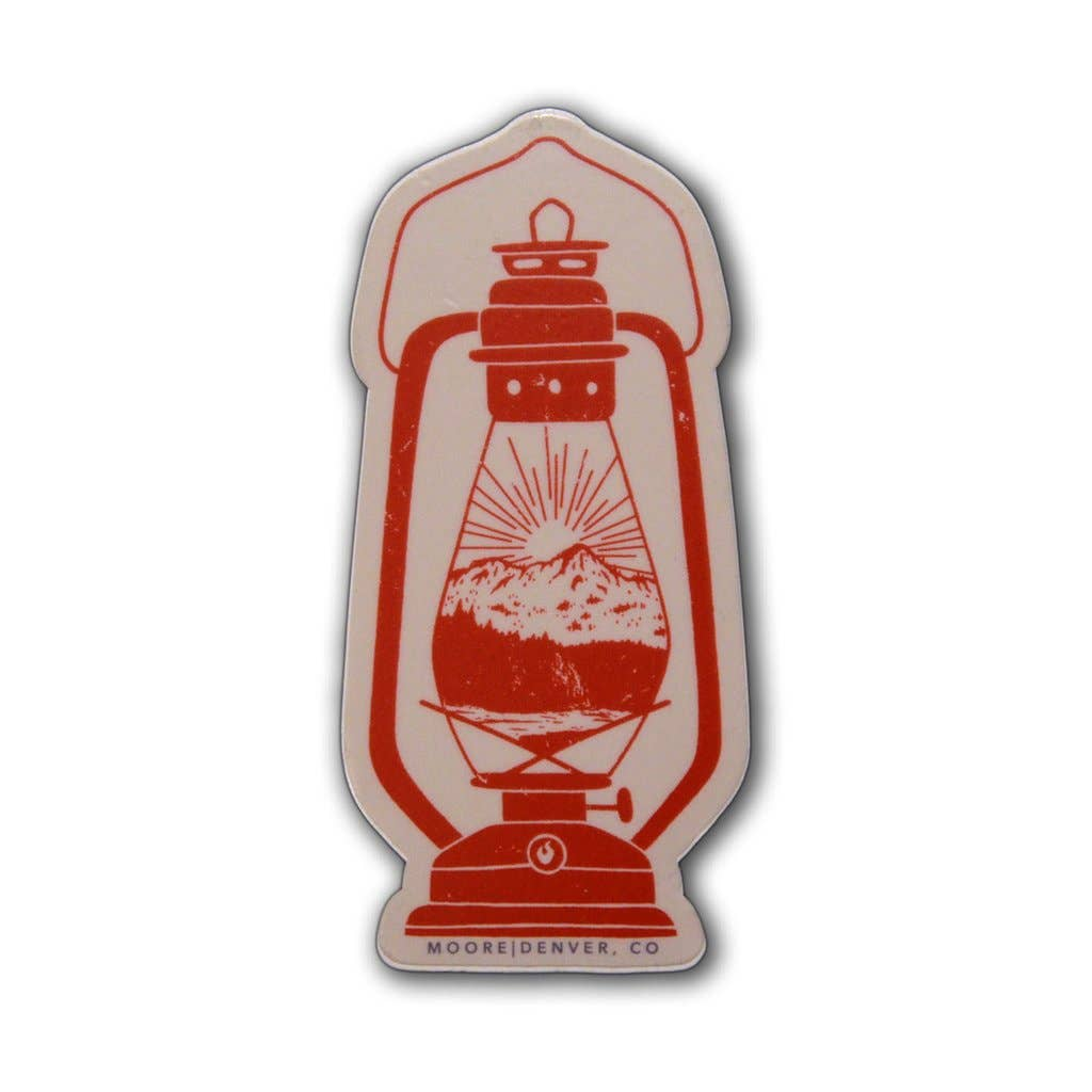 Lantern Sticker - The Lake and Company