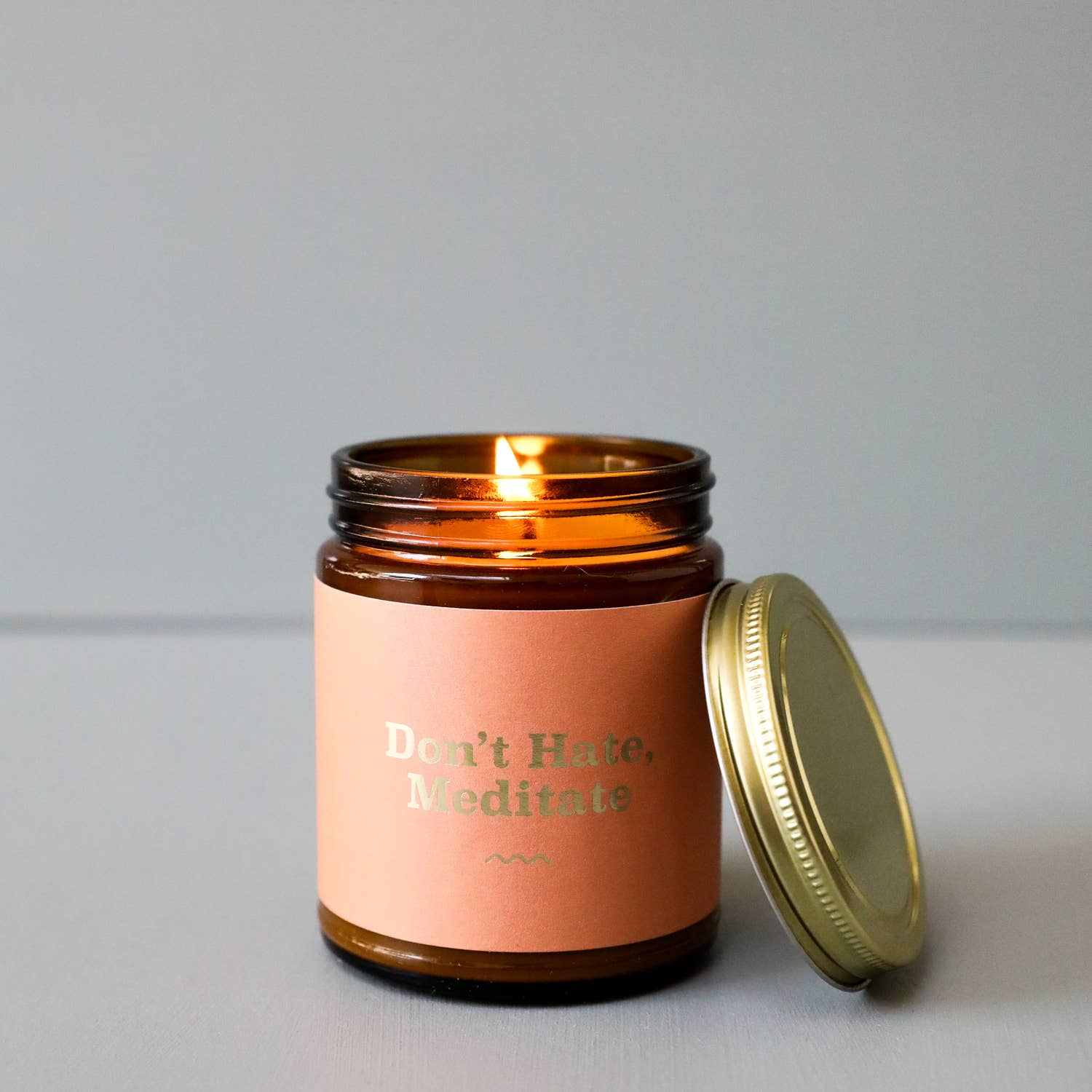 Mantra Candle - Don't Hate - The Lake and Company