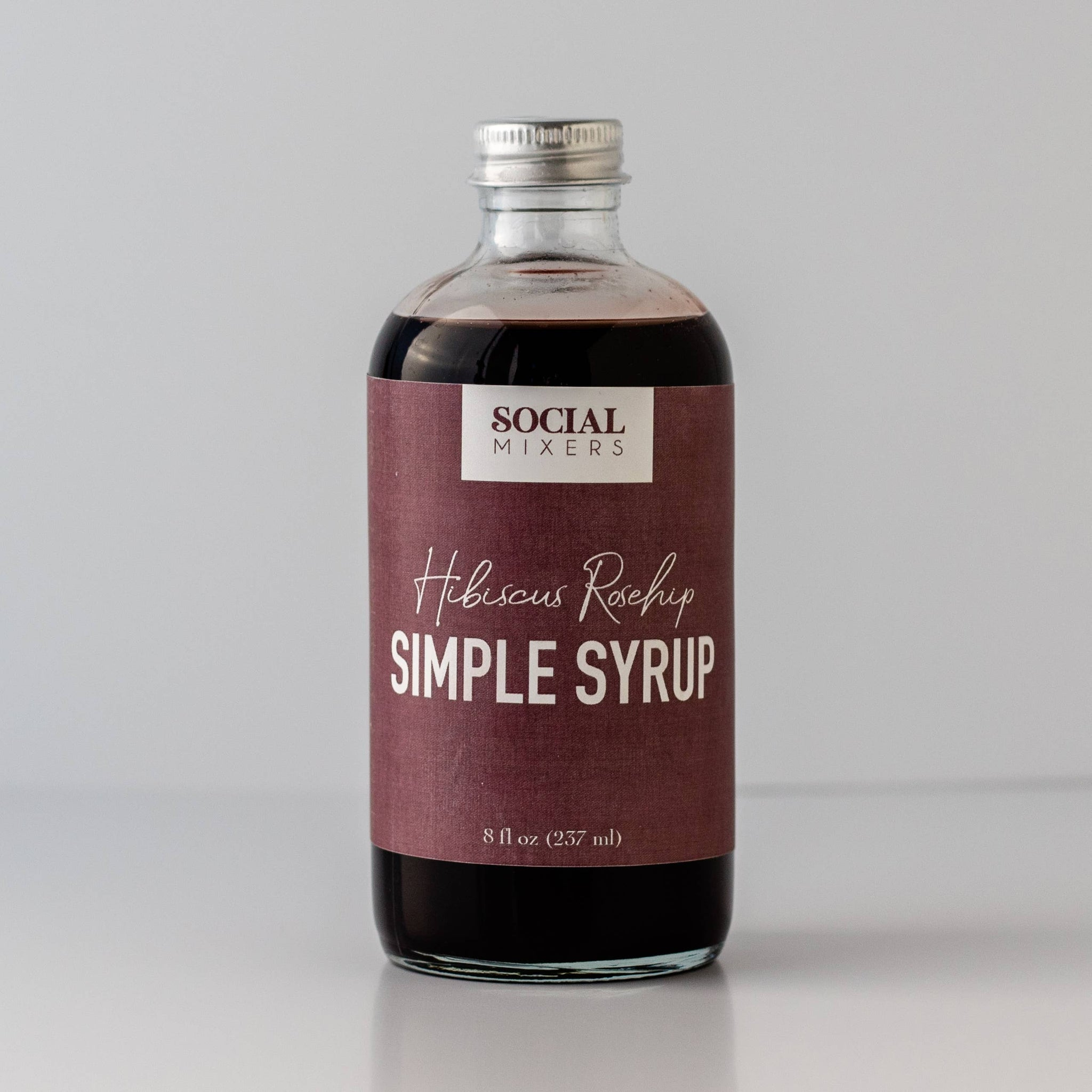 Hibiscus Rosehip Botanical Syrup - The Lake and Company
