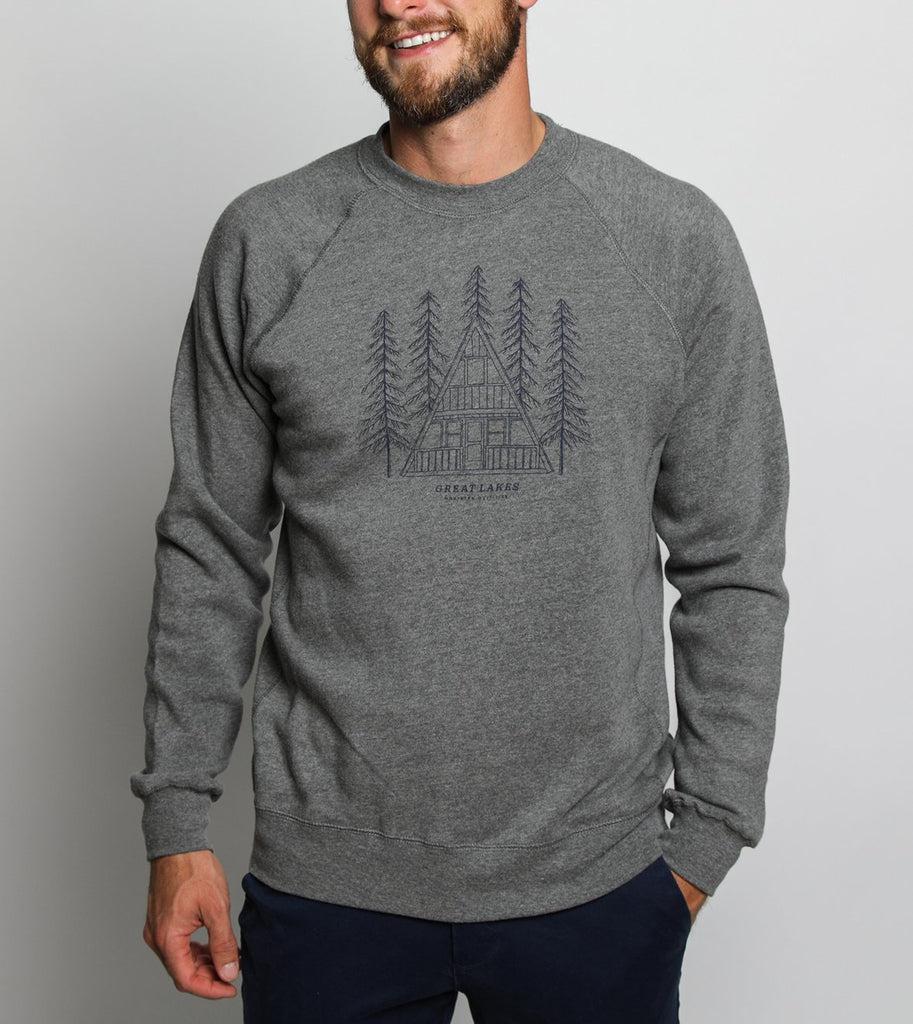 A-Frame Crew - Heather Grey - The Lake and Company