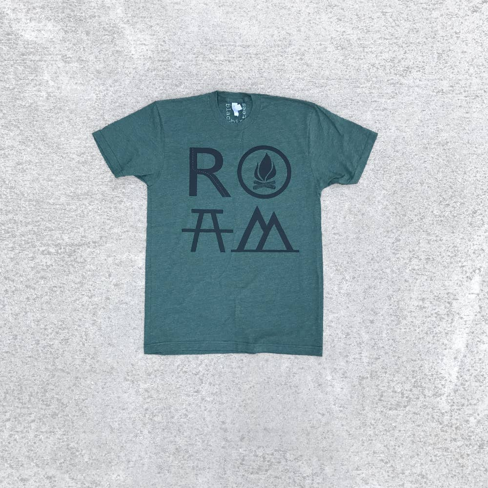 Roam Men's Camping Tee - The Lake and Company