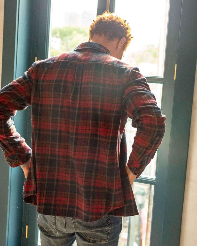 Men's Responsible Flannel - Coffee - The Lake and Company