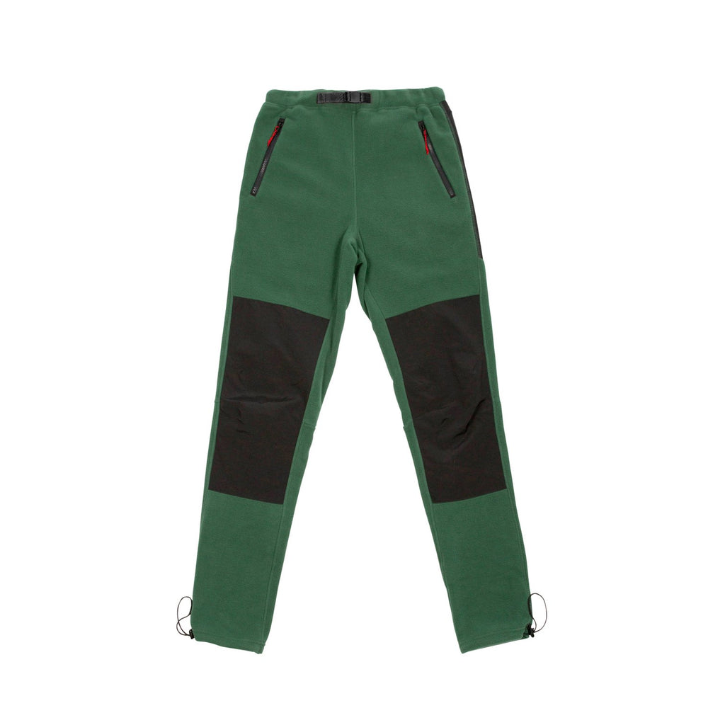 Men's Fleece Pants - Forest/Black - The Lake and Company