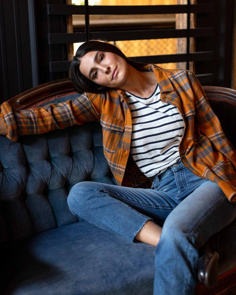 Women's Responsible Flannel - Sienna - The Lake and Company