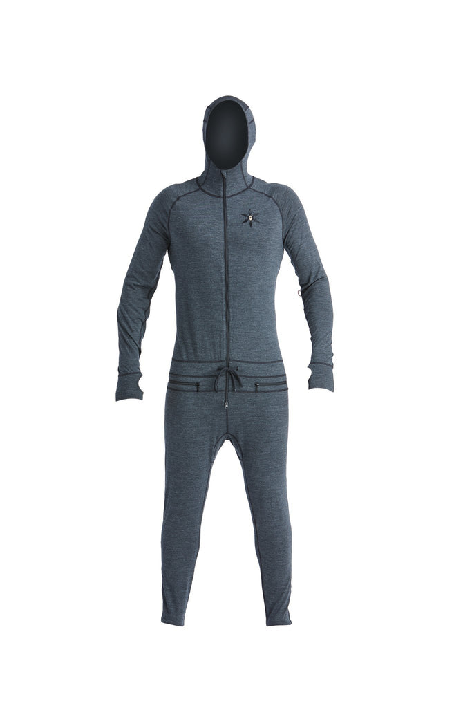 Men's Merino Ninja Suit - Black - The Lake and Company