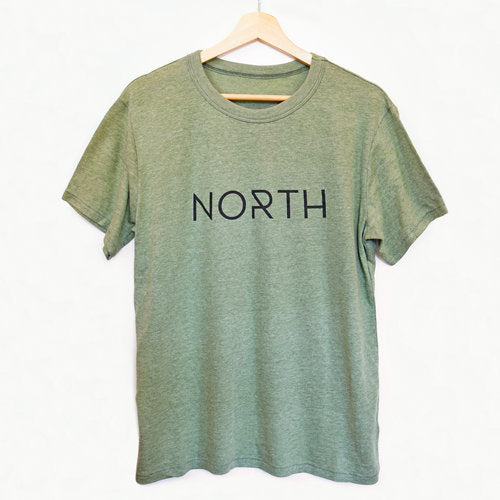 The NORTH Men's Tee- Pine - The Lake and Company