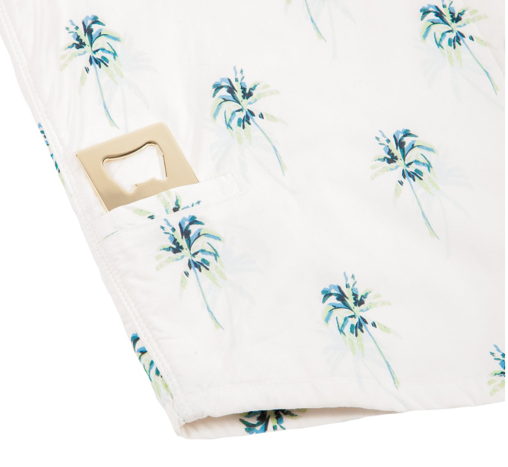Women's High Water Shirt - Indio Palm White Sand - The Lake and Company