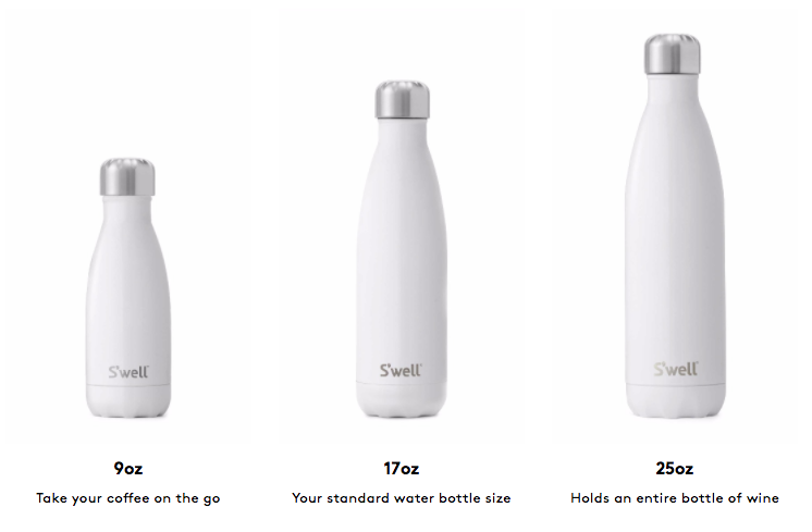su0027well water bottle 9oz variety of colors