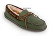 Men's Canvas Sheepskin Slipper