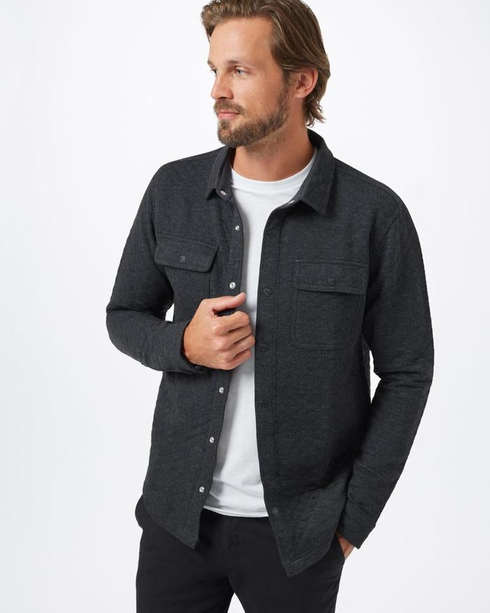 Men's Colville Quilted Longsleeve Shirt - The Lake and Company