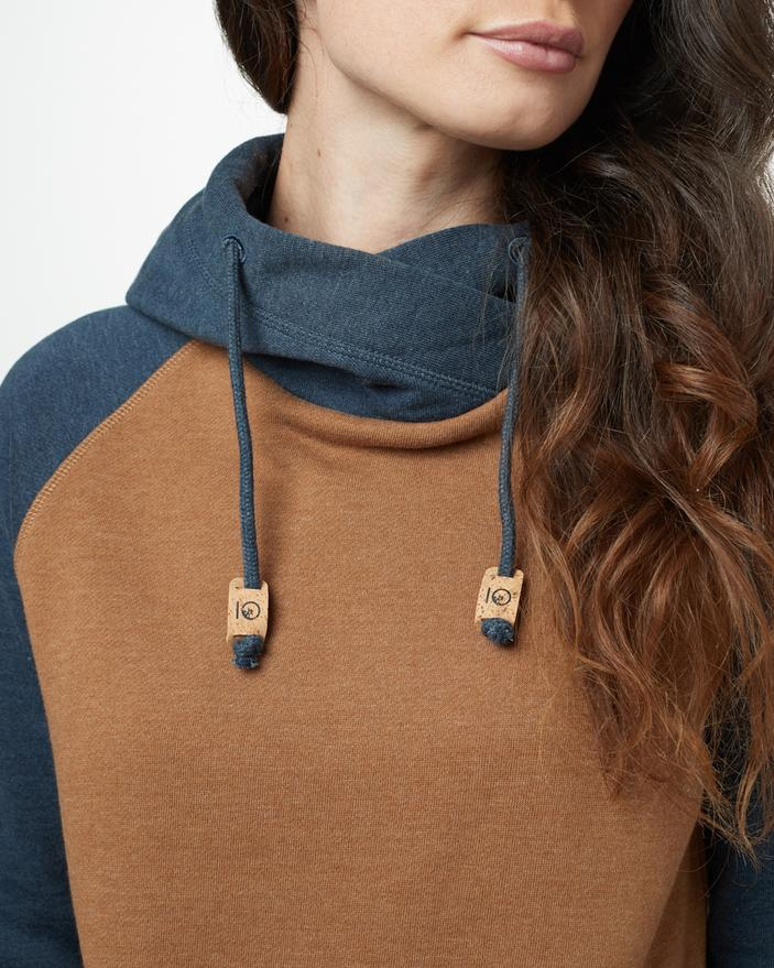 Women's Burney Hoodie - Rubber Brown Heather - The Lake and Company