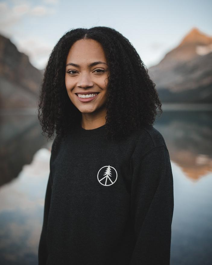 Women's Peace Tree LS Crew - The Lake and Company
