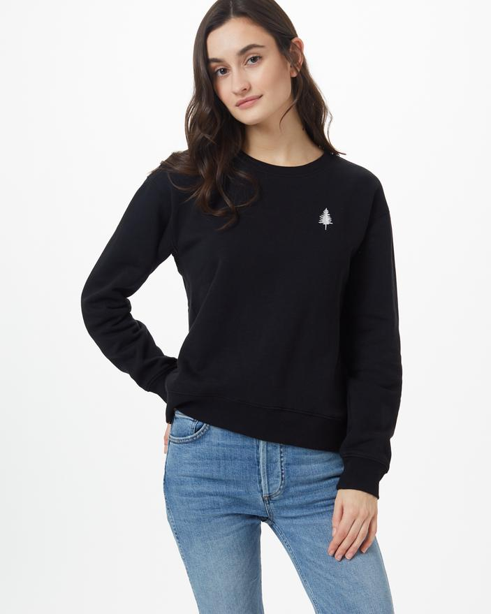 Women's TreeFleece Golden Spruce Crew - The Lake and Company