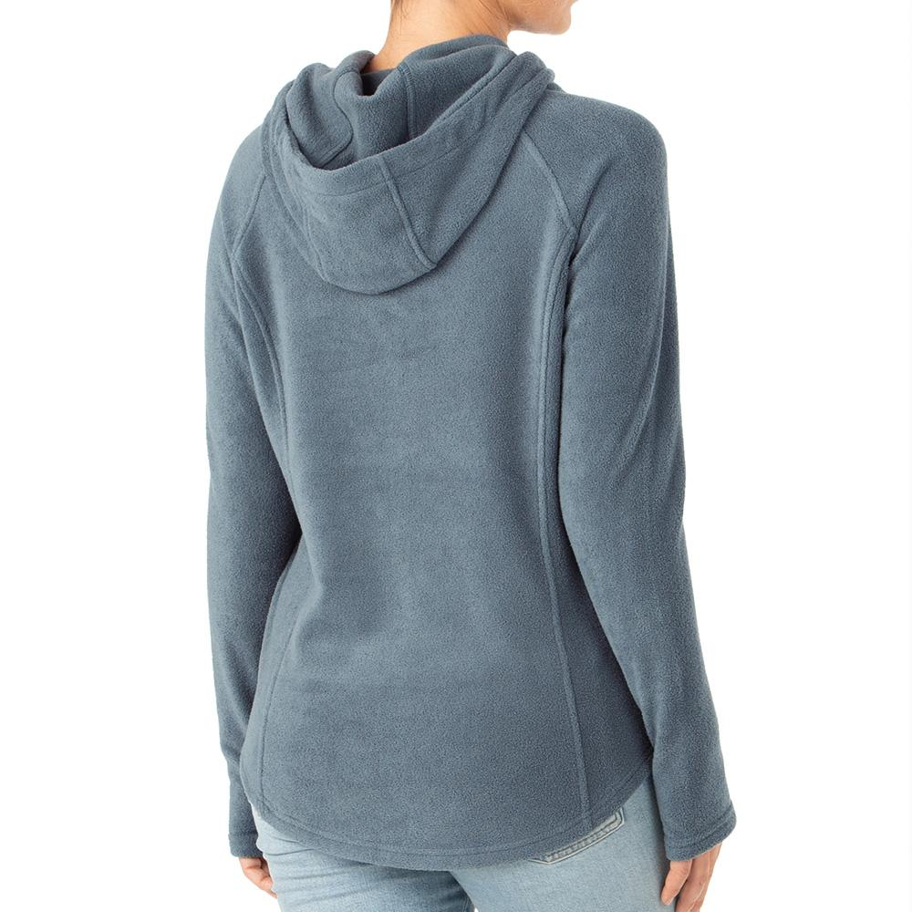 Women's Bamboo Polar Fleece Hoodie - Blue Dusk