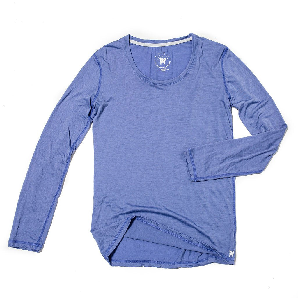 Women's Wayfarer Long Sleeve Merino Wool Tee - The Lake and Company