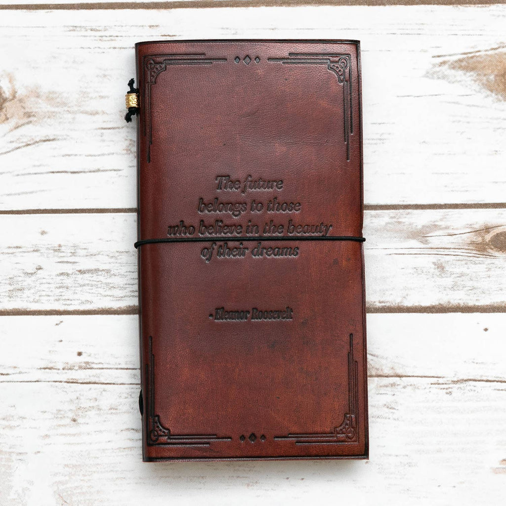 Time is the Longest Distance Traveler's Notebook - The Lake and Company