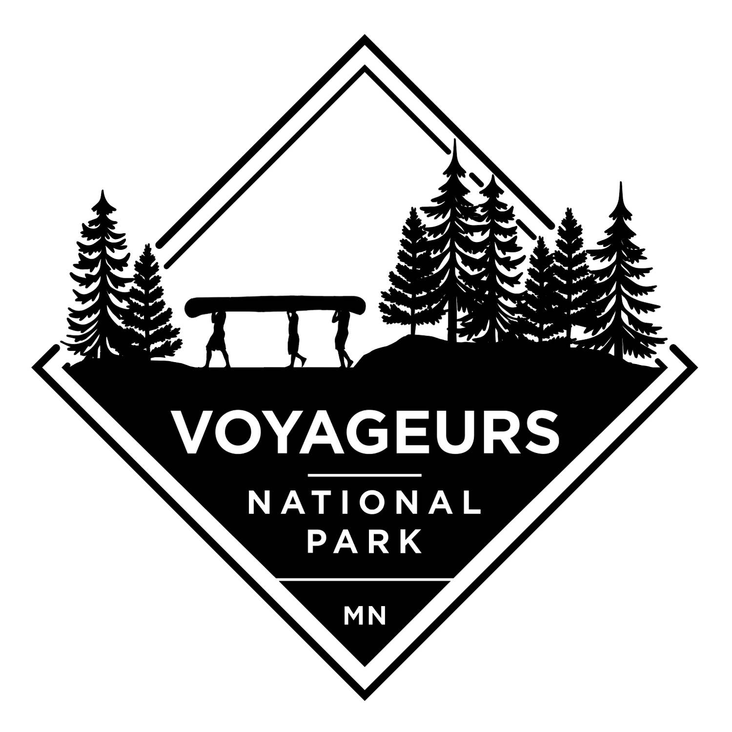 Voyageurs National Park Sticker - The Lake and Company