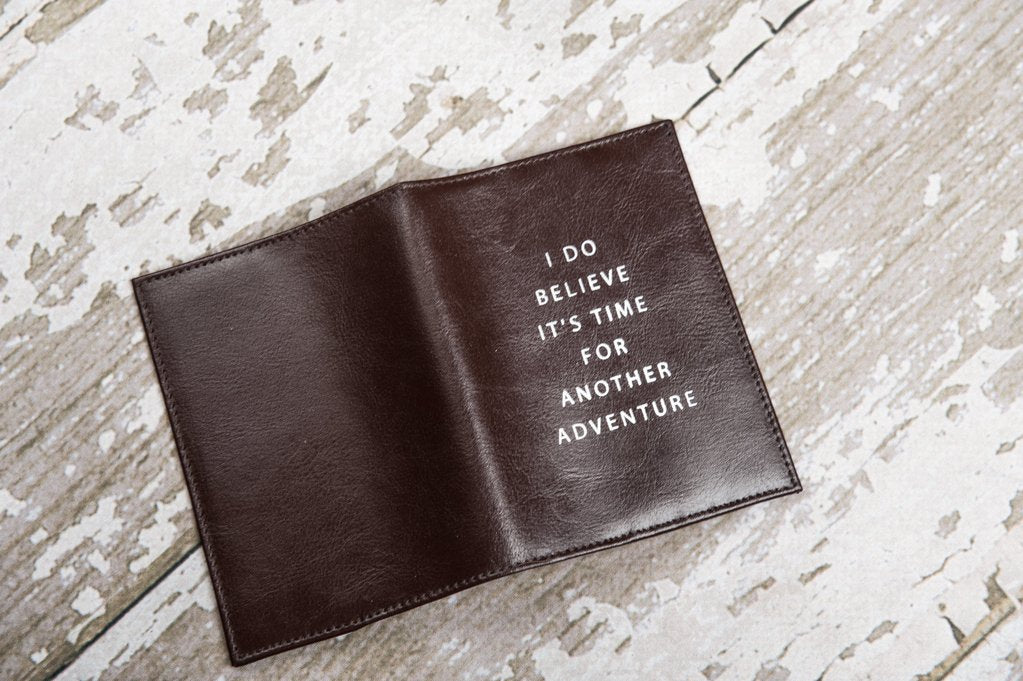 soothi another adventure genuine leather passport cover the lake