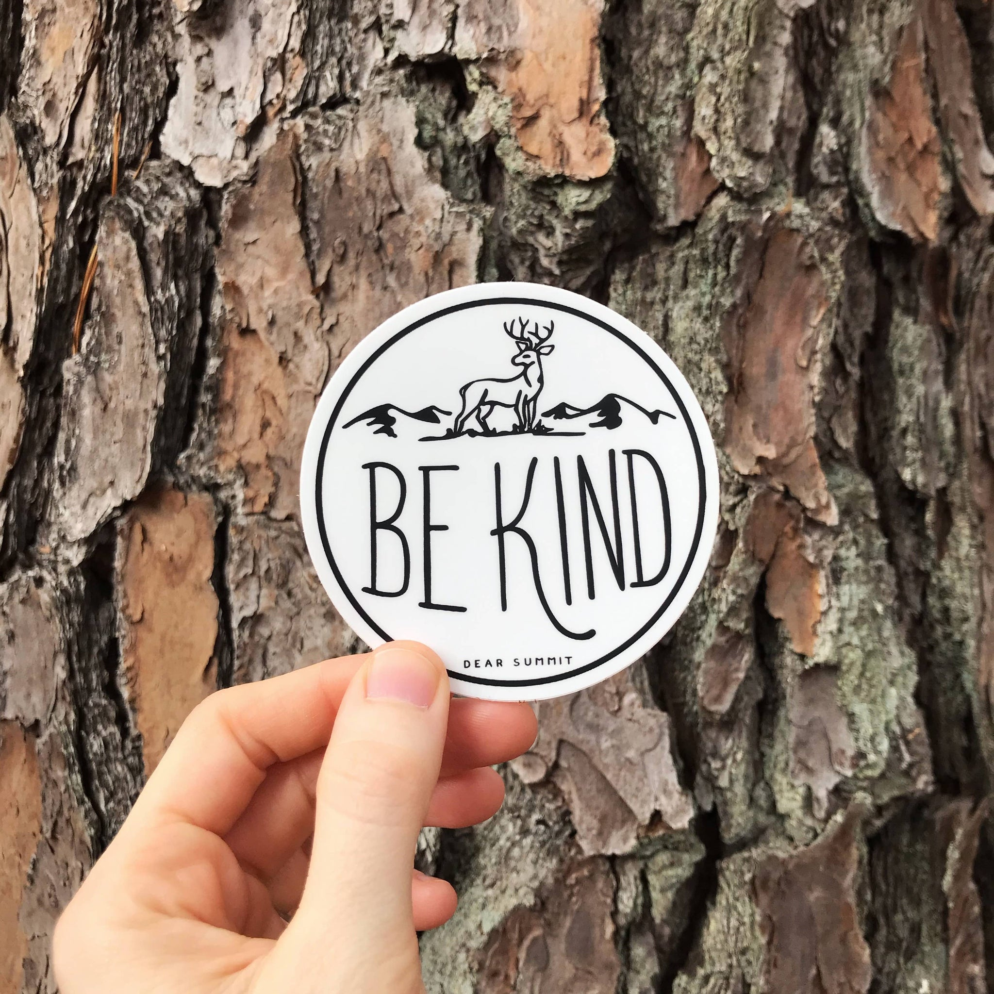Be Kind Sticker - The Lake and Company