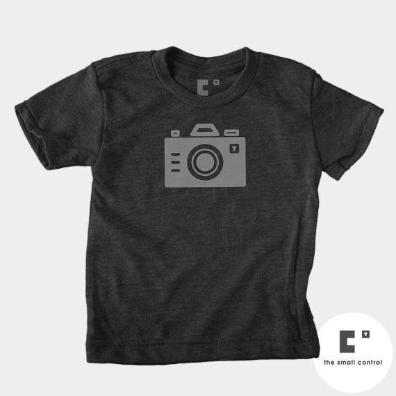 Camera Kids Tee - The Lake and Company