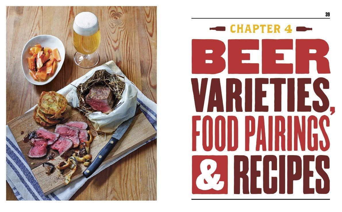 ON BEER AND FOOD: The Gourmet's Guide to Recipes and Pairings - The Lake and Company