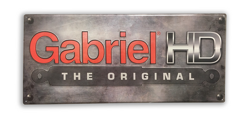 Gabriel HD Metal Sign