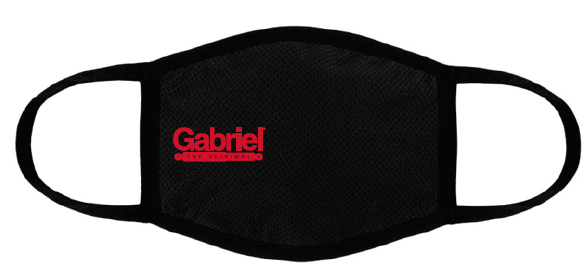 Fabric Face Mask with Gabriel Logo