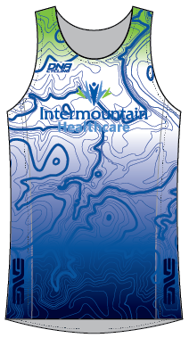 Intermountain Tri Singlet - UNISEX