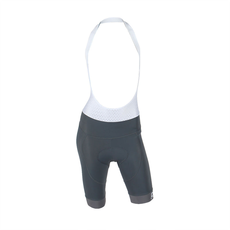 Ladies Bib Short - Gray