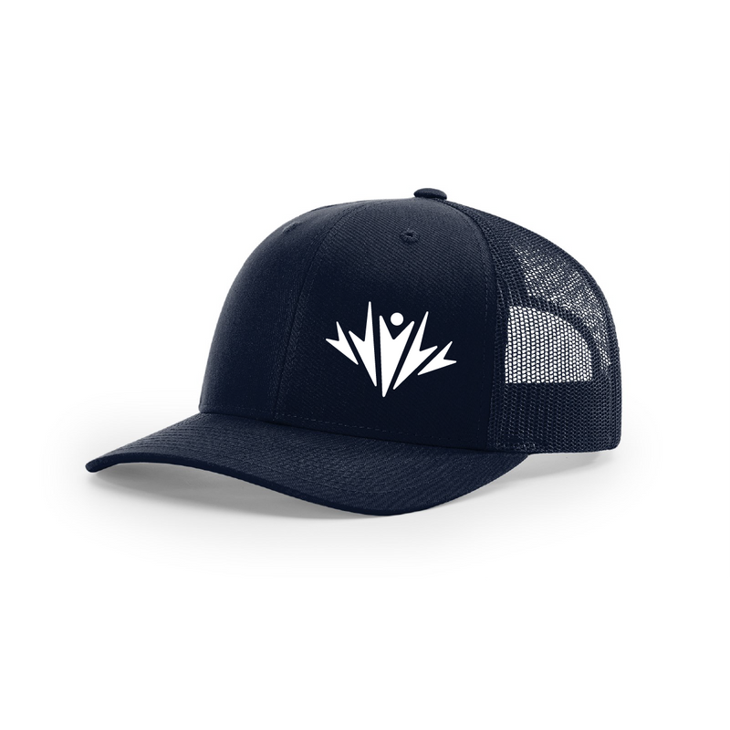 Intermountain Tri Trucker Hat - NAVY