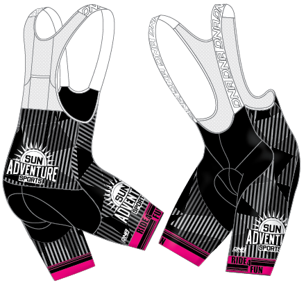 Sun Adventure Sport Elite Bibshort-Pink