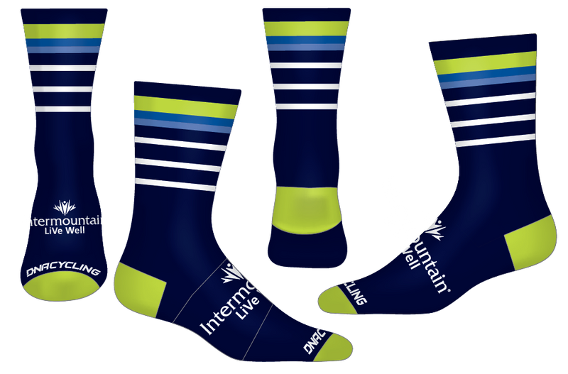 "THRESHOLD 6"" PERFORMANCE SOCK - STRIPES"