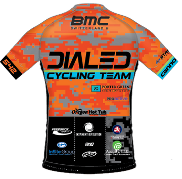Dialed Cycling Distance Jersey