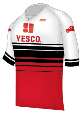 YESCO Freeride ¾ Sleeve V-Neck Jersey