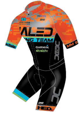 Dialed Cycling Short Sleeve Race Skin Suit