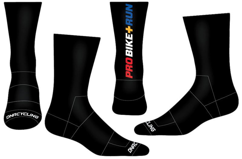 "UPMC 6"" Performance Sock - BLACK"