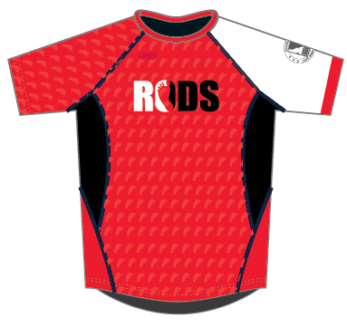 RODS Running Shirt - RED